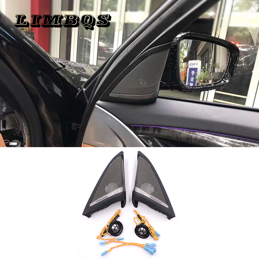 High Quality Side Door Tweeters For G30 BMW 5 Series Audio Trumpet Head Door Treble Speakers  ABS Material Easy Installation