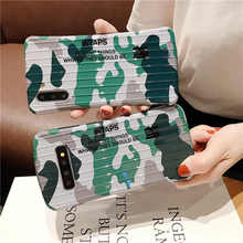 Army Green Camouflage Luggage Soft Case For Samsung Galaxy S8 S9 S10 Plus Cover Note 8 9 10 Pro Phone cases fundas