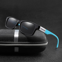 Marca de design polarizado óculos de sol homem spuare masculino condução óculos de sol alta qualidade uv400 tons óculos de sol gafas de sol