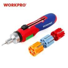 WORKPRO 24 w 1 automatyczne ładowanie śrubokrętów zestawy narzędzi do napraw zestawy wielu bitów