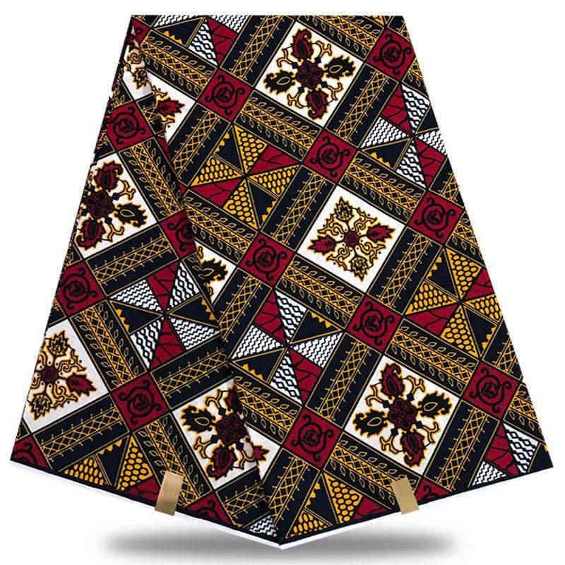 Afrika hollandalı balmumu 6 yard/lot nijeryalı dantel kumaşlar yüksek kalite pamuk hollandalı balmumu baskı % 100% pamuk malzeme XFE0-14