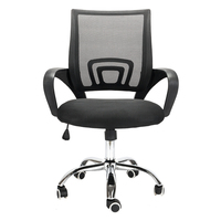 Office Furniture Height Adjustable Rotatable Computer Chair Armrest High Back Swivel Chair Meeting Office Chair
