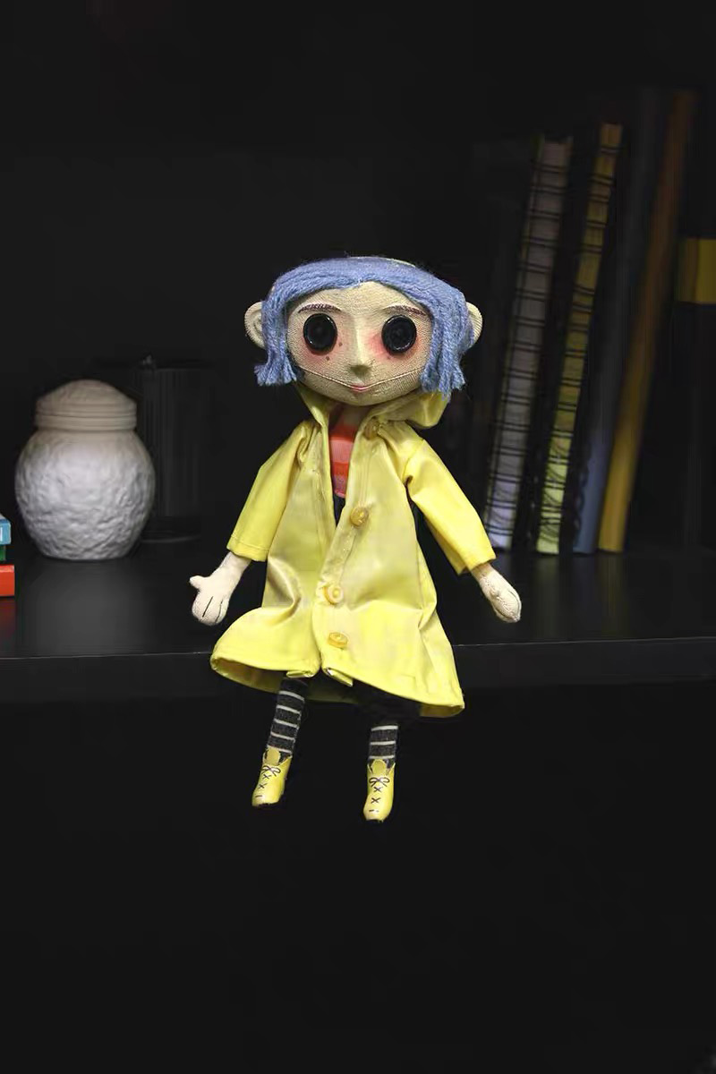 Best Sale 4403b 7inch Coraline The Secret Door Coraline Y La Puerta Secreta Raincoat Take Off Action Figure Toys Doll Christmas Gift Cicig Co