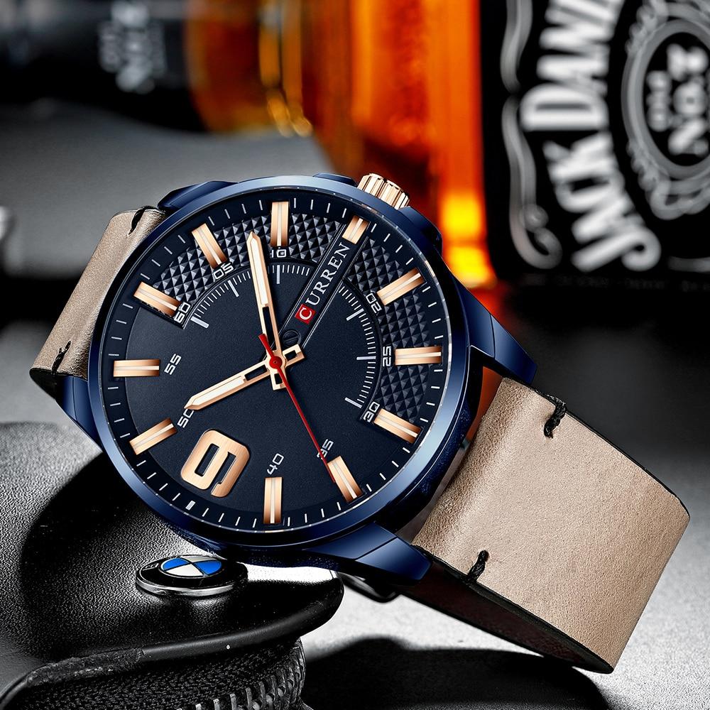 He9688d6952894b2984c6e61ac06429e2p Top Brand Luxury Business Watch Men CURREN Watches