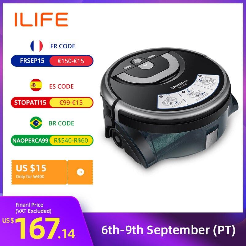 ILIFE New W400 Floor Washing Robot Shinebot Navigation Large Water Tank Kitchen...