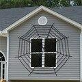 Гигантская тянущаяся паутина в виде паутины, 3 размера, вечерние украшения на Хэллоуин, домик с привидениями для Хэллоуина