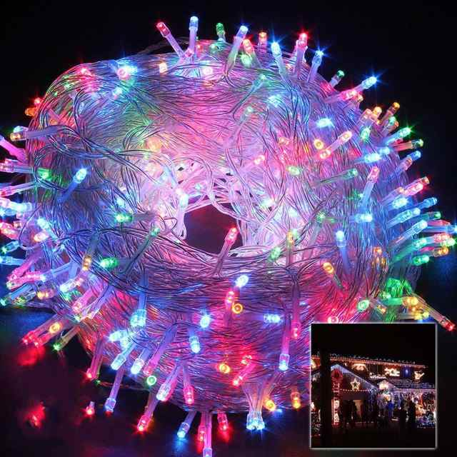 Led 30m Fairy String Lights Lamp Party