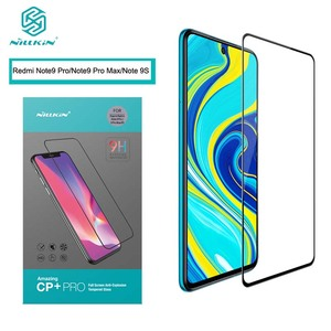 Image 2 - For Redmi Note 9 Pro Tempered Glass NILLKIN Anti burst Fully Coverage Screen Protector стекло for Redmi Note 9S
