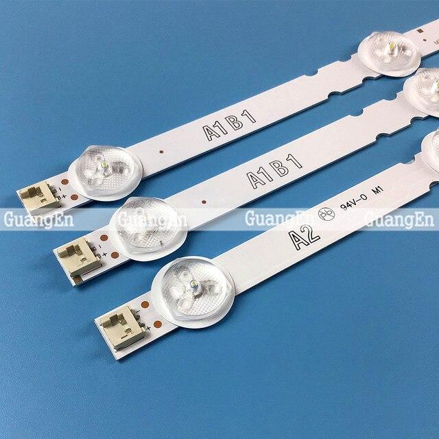 30 adet 630mm arka ışık şerit lamba için 32 TV 32ln541v 32LN540V A1/A2 Type 6916L 1437A 6916L 1438A 6916L 1204A 6916L 1426A