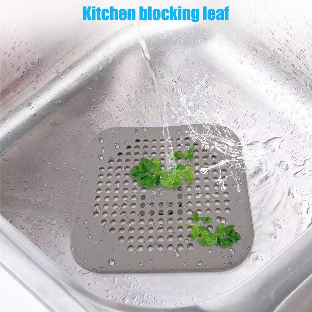1Pc Kitchen Bathroom Anti Clogging Bath Shower Cover Sink Sewer Filter Floor Sink Drain Strainer Hair Catcher Stopper Appliances