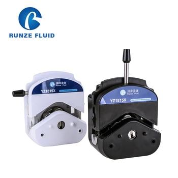 YZ15 Peristaltic Pump Head Easy-Load Stainless Steel 3/6 Rollers Water Liquid Metering lab application liquid transfer metering tubing peristaltic pump