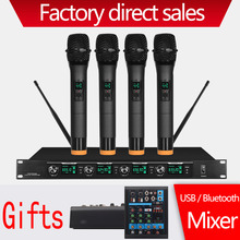 Professional wireless microphone handheld lavalier family KTV karaoke OK outdoor activity