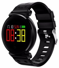 LED color K2 IP68 smart watch, long standby heart rate, blood pressure, blood oxygen monitoring smart bracelet.(China)