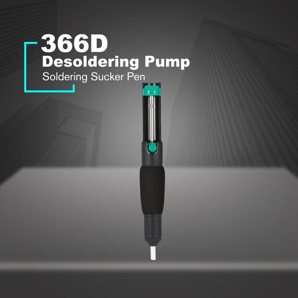 Desoldering Pump Suction Tin Gun Soldering Sucker Pen Removal Vacuum Soldering Iron Desolder Hand Welding Tools-in Desoldering Pumps from Tools on AliExpress