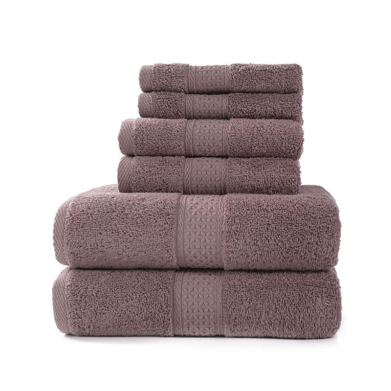 Luxury Bath Towel Set,2 Large Bath Towels,2 Hand Towels,2 Washcloths. Hotel Quality Soft Cotton Highly Absorbent Bathroom Towels