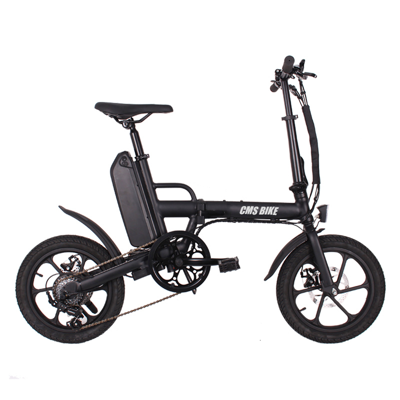 folding 16 inch 36v CMS-F16-Plus ebike adult folding electric bike mini electric bicycle 2