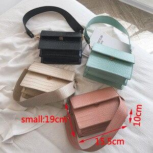 Image 4 - Moda timsah omuz çantaları kadınlar için tasarımcı çantaları yüksek kaliteli PU deri kadın tote bayanlar timsah Crossbody çanta