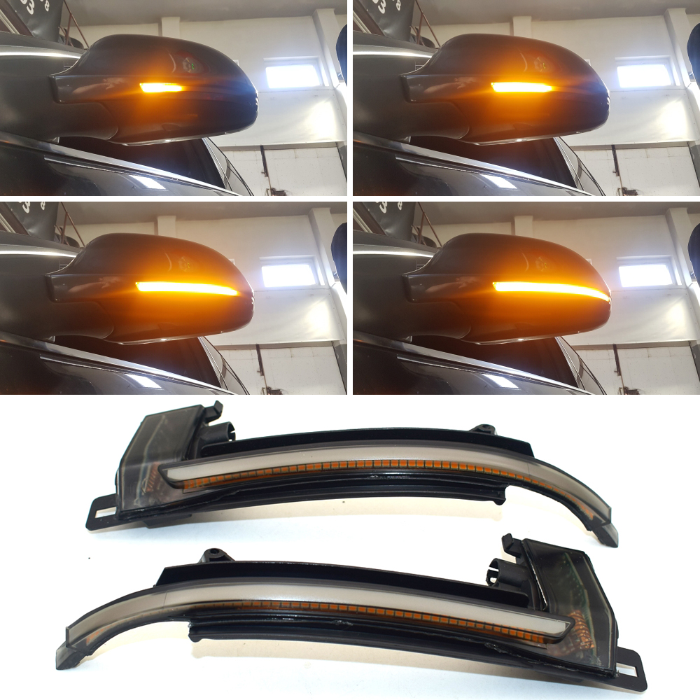 Dynamic Blinker Mirror Light for <font><b>Audi</b></font> A3 8P A4 A5 B8 Q3 A6 C6 4F S6 <font><b>LED</b></font> Turn Signal Side Indicator S4 S5 S6 <font><b>A8</b></font> <font><b>D3</b></font> 8K S8 image