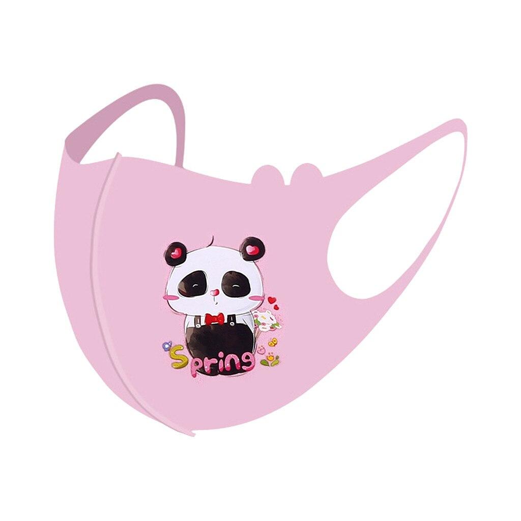 1 pçs máscara crianças meninos meninas lavável ajustável dos desenhos animados adorável máscara capa livre compras 2021 venda quente mascarillas