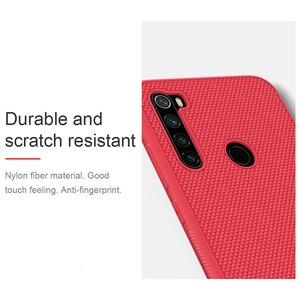 Image 4 - For Xiaomi Redmi Note 8 NILLKIN Textured Nylon fiber durable non slip Thin and light back cover For Xiaomi Redmi Note 8 Pro Case