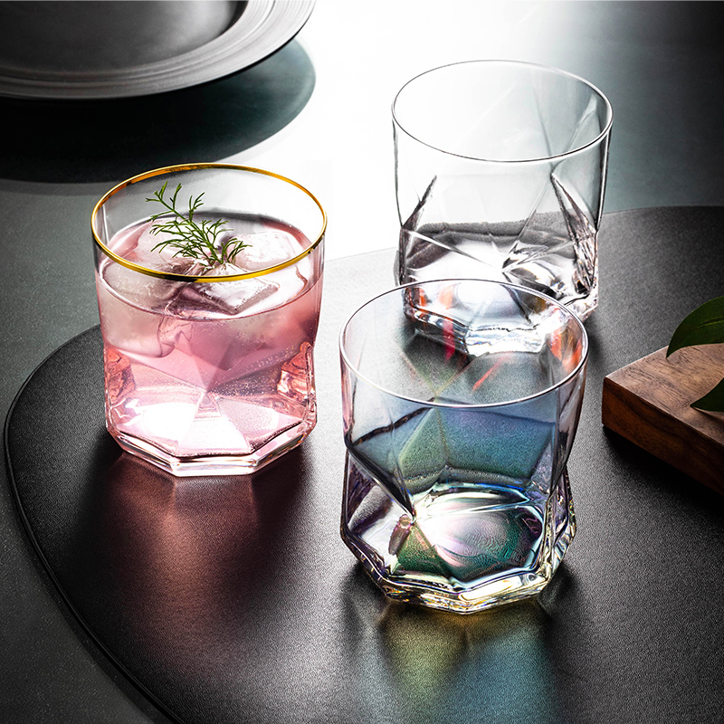 Wine Cup Creative Crystal Constellation Glass Cups Stylish Red Wine Goblet Vodka Shot Cup Whiskey Glassware Drinking For Barware