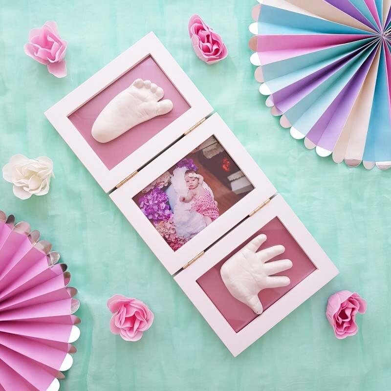 Handprint Footprint Children's Photo Frame 7
