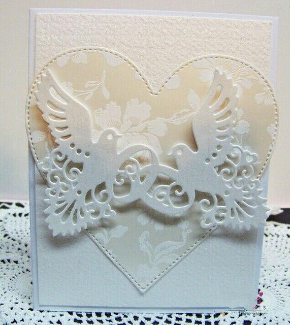 L-Sunday Crafts Die Dove металлический Скрапбукинг для изготовления карт DIY тиснение ремесла Декор