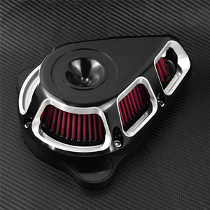 Image 4 - Filtr powietrza motocykla filtr multi angle zestawy filtrów dla Harley Sportster XL883 Touring Electra Glide Road Glide Dyna Fatboy