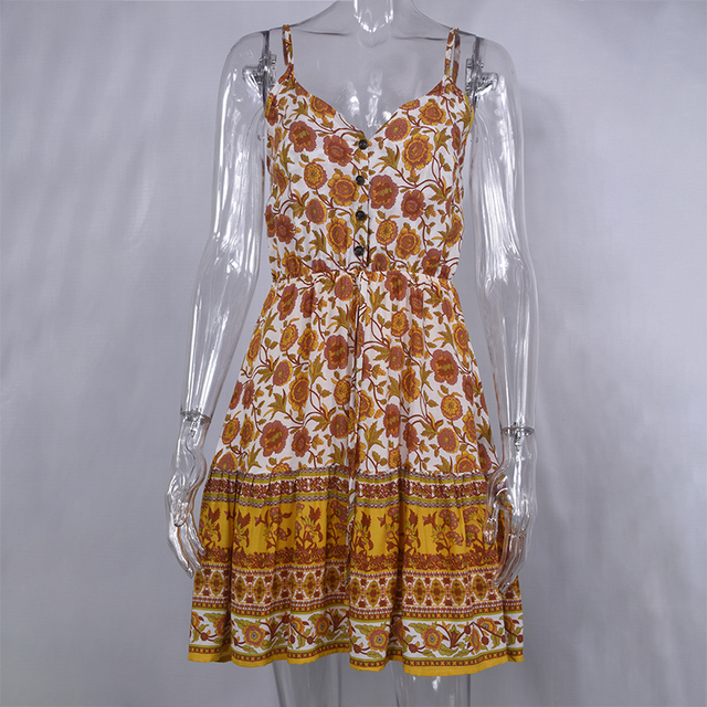 Lossky Summer Women Dress 3