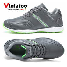 Golf-Sneakers Waterproof Big-Size Outdoor New White Gray Anti-Slip Men
