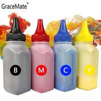 GraceMate Kompatibel für Xerox 6125 6128 6130 6140 Toner Pulver Phaser Drucker 106R01456 106R01457 106R01458 106R01459 mit Clip Tonerpulver    -