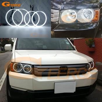 цена на For Honda Crossroad 2007 2008 2009 2010 Excellent Ultra bright illumination ccfl angel eyes kit Halo Ring