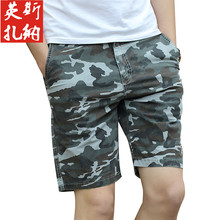ICCZANA Brand Short Men Summer Waterproof Military Shorts Men Cotton Cargo Short  Plus Size 36 38 Unionbay�Cargo Shorts 2215
