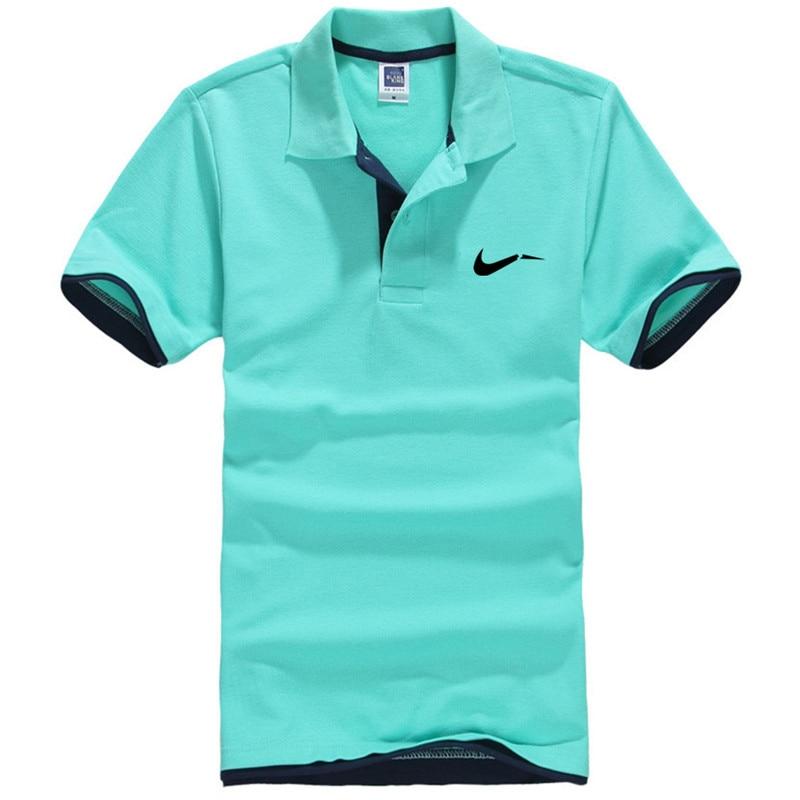 New men's polo shirts high-quality cotton  1