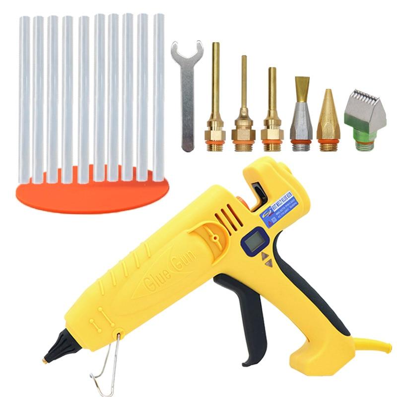Hot Melt Glue Gun 300W 400W 500W Adjustable Temperature Thermostatic Glue Gun 11mm Glue Stick Industrial Professional Repair Too