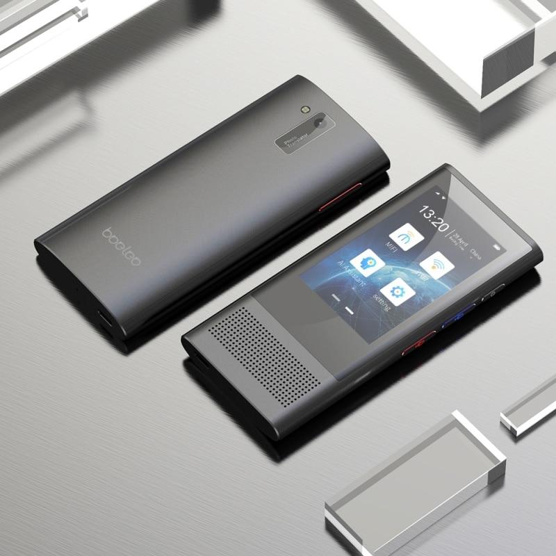 Boeleo BF301(W1 3.0) 2.8 Inch Screen Smart Voice Translator For Business Travel 1GB+8GB Support 117 Languages Inter-Translation