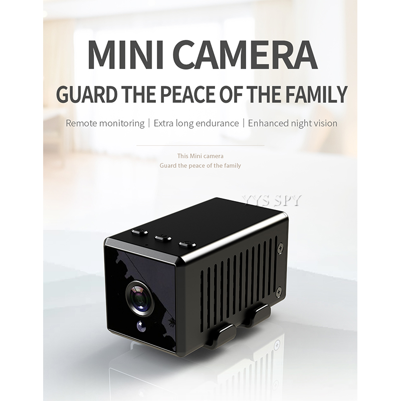 8 Hours Video Recording HD 1080P <font><b>Mini</b></font> <font><b>Wifi</b></font> <font><b>Camera</b></font> Espia Micro Action Bike Kamera Secret Gizli Small Cam Night Vision IP Camara image