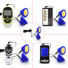 Electric Shock Nipple Sucker Massager For Breast Enlarger Clitoris Sex Toys For Women Enhancer Electric Shock Gloves Accessories