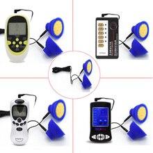 Masseur électrique de suceur de mamelon de choc pour des jouets sexuels de Clitoris dagrandissement de sein pour des accessoires de gants de choc électrique de renforceur de femmes
