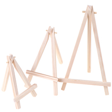 1Pc Mini Wood Artist Tripod Painting Easel For Photo Painting Postcard Display Holder Frame Cute Desk Decor Drawing Toy
