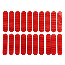 New Hot 20Pcs Full Cover Car Body Reflective Styling Stickers for Xiaomi Mijia M365 Max G30 Electric Scooter Skateboard Accessor motorcycle tricycle self rescue trailer electrombile car booster puncture emergency car for xiaomi mijia m365 scooter skateboard