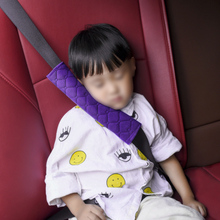 цена на 2pcs Car Safety Seat Belt Cover Harness Shoulder Pads Protection Cushion Neck Seat Belt