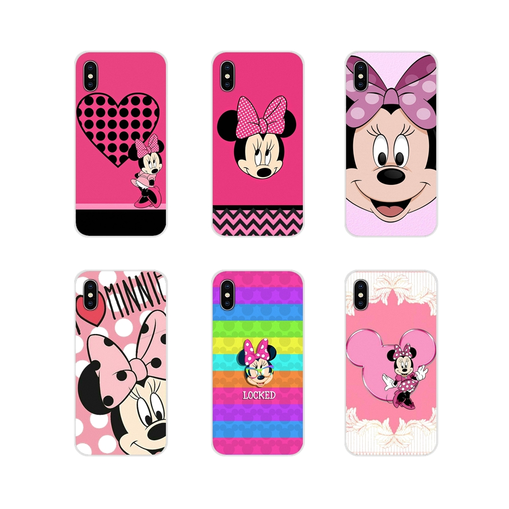 minnie-mouse-for-xiaomi-redmi-4a-s2-note-3-3s-4-4x-5-plus-6-7-6a-pro-pocophone-font-b-f1-b-font-accessories-phone-cases-covers
