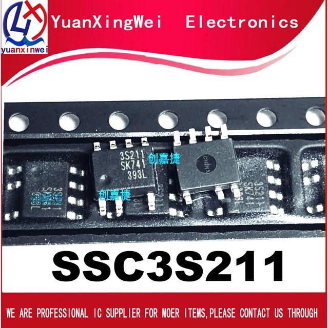 5pcs   100% New SSC3S211 3S211 sop 7 Chipset