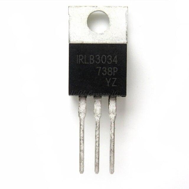 50 개/몫 IRLB3034 TO 220 IRLB3034PBF TO220 신형 MOS FET 트랜지스터 재고 있음