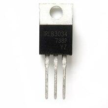 50 pz/lotto IRLB3034 TO 220 IRLB3034PBF TO220 nuovo transistor MOS FET In Magazzino