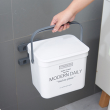 Kitchen Bathroom Storage Organizer Trash Can Kitchen Wall Mounted Garbage Bin Gift Garbage Bag Zero Waste Recycle Compost Bin papelera kosz na smieci garbage de bag holder reciclaje commercial hotel lixeira cubo basura recycle bin dustbin trash can