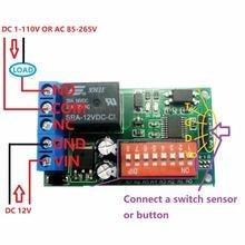 1ch ac/dc 12v Сенсор реле задержки таймера доска для rcwl 0516