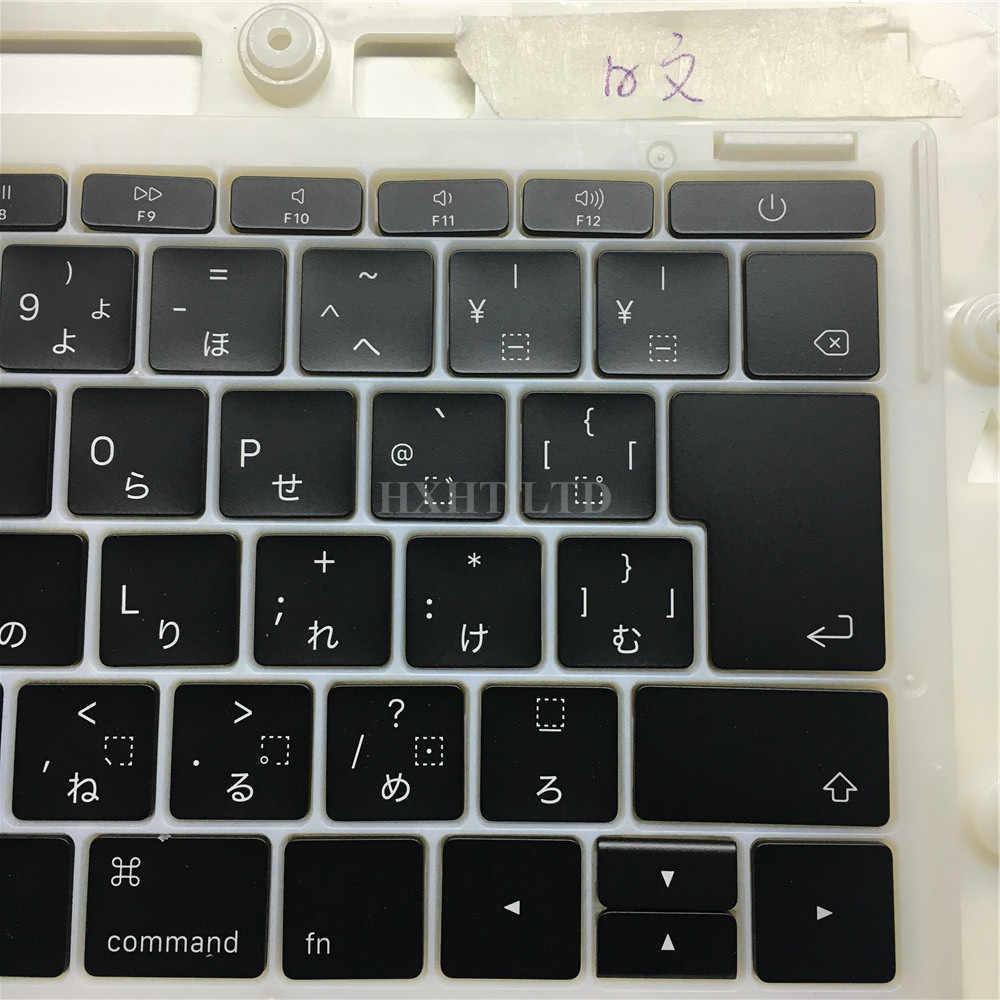 """新 A1706 A1708 A1707 日本キーキャップ Macbook Pro の網膜 13 """"15"""" キーキーキャップキーボード後期 2016 ミッド 2017"""