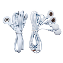 Wire-Plug Connecting-Cables Massager Therapy-Machine TENS Electrode Lead-Wires Digital